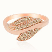 Gouden ring met SI Rose de France Diamanten (Annette)