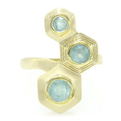 Zilveren ring met een Grandidiriet (MONOSONO COLLECTION)