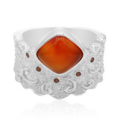 Zilveren ring met een carneool (MONOSONO COLLECTION)