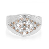 Zilveren herenring met Fancy diamanten (Cavill)