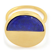 Zilveren ring met een lapis lazuli (MONOSONO COLLECTION)