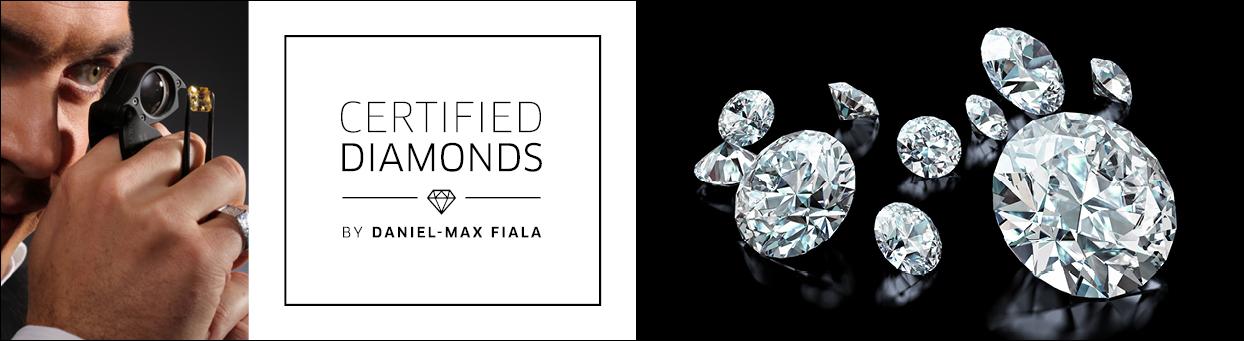 Certified Diamonds by Daniel-Max Fiala