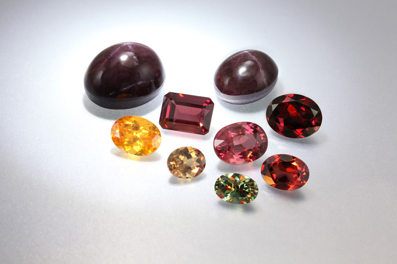 Granaat Kleuren