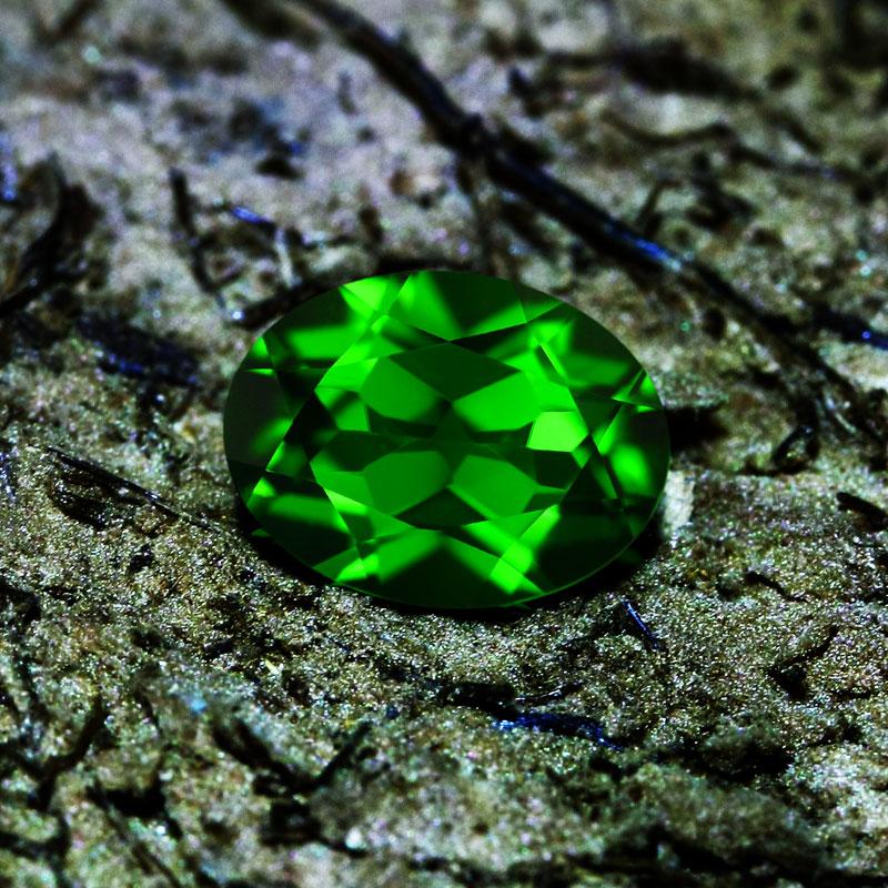 Groene Diopsied